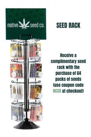 Native Seed Co Seed Rack